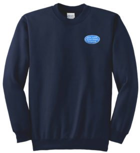 New York Central Blue Logo Crew Neck Sweatshirt [29blue]