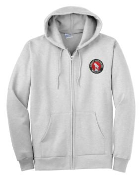 Great Northern Railway Zippered Hoodie Sweatshirt [30]