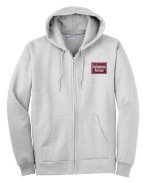 Delaware, Lackawanna & Western Zippered Hoodie Sweatshirt [31]