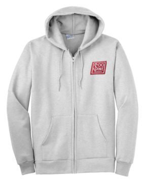 Soo Line Railroad Zippered Hoodie Sweatshirt [38]