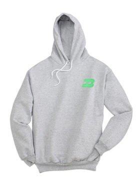 Burlington Northern Logo Pullover Hoodie Sweatshirt [46]