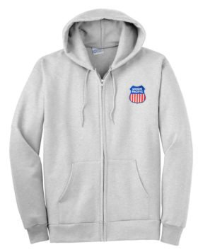 Union Pacific Raillroad Zippered Hoodie Sweatshirt [47]