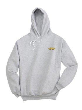BNSF Cigar Band Logo Pullover Hoodie Sweatshirt [61]