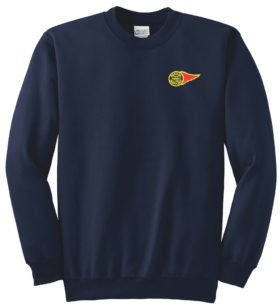 Western Maryland Fireball Logo Crew Neck Sweatshirt [63]