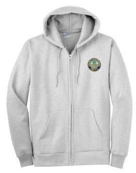 Northwesten Pacific Railroad Zippered Hoodie Sweatshirt [80]