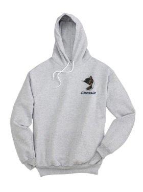 Chessie The Sleeping Kitten Pullover Hoodie Sweatshirt [91]