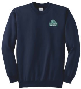 Sacramento Northern Railway Crew Neck Sweatshirt [97]