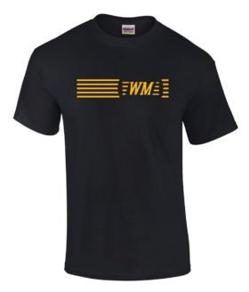 Western Maryland Striped Logo Tee Shirts [tee07]