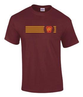 Pennsylvania Rail Road Logo Tee Shirts [tee09]