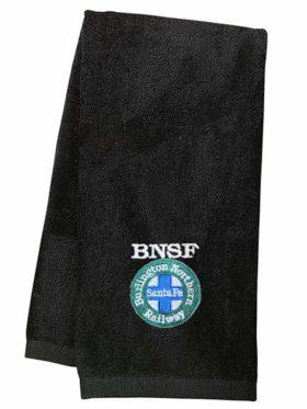 Burlington Northern Santa Fe Intermodal Logo Embroidered Hand Towel [03]