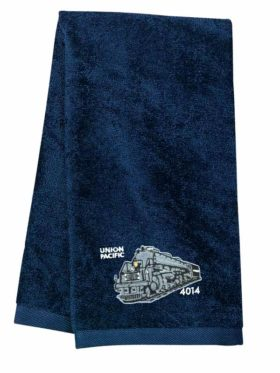 Union Pacific Big Boy 4014 Embroidered Hand Towel [18]