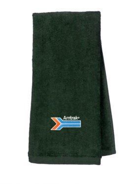 Amtrak Arrow Embroidered Hand Towel [221]