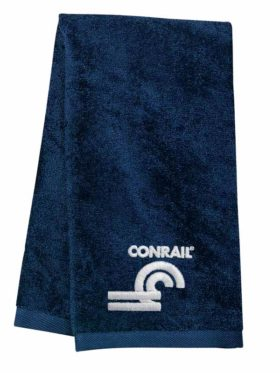 Conrail Herald Embroidered Hand Towel [23]