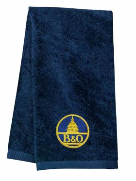 Baltimore and Ohio Embroidered Hand Towel [25]