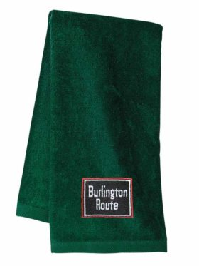Chicago, Burlington and Quincy Embroidered Hand Towel [33]