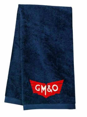Gulf, Mobile and Ohio Embroidered Hand Towel [36]