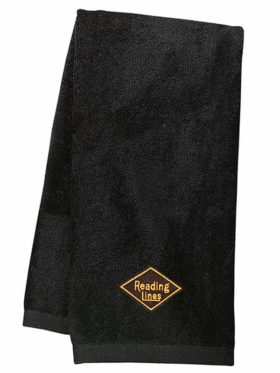 Reading Lines Railroad Embroidered Hand Towel [40]
