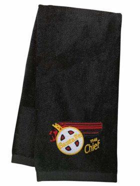 AT&SF Santa Fe Chief Embroidered Hand Towel [42]