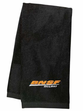 BNSF Swoosh Logo Embroidered Hand Towel [48]