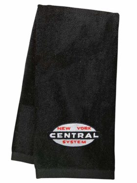 New York Central Cigar Band Logo Embroidered Hand Towel [62]