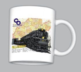 C&O Allegheny Mug (Mug 10017)