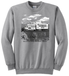 Rio Grande Southern Galloping Goose #5 Sweatshirt