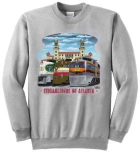 Streamliners of Atlanta Sweatshirt