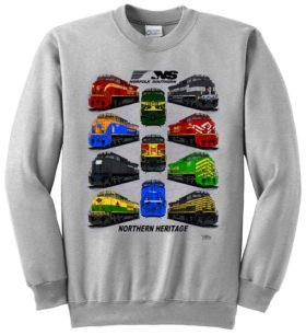 Norfolk Southern Northern Heritage Sweatshirt