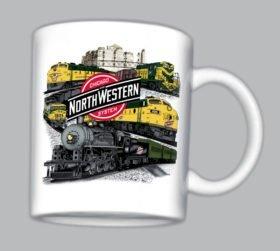 C&NW Collage Mug(mug 49)