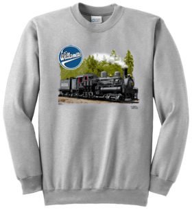 Willamette Logging Locomotives Sweatshirt