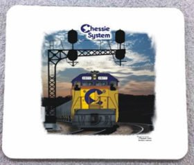 Chessie System Sunset Mousepad (33m)