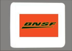 BNSF Swoosh Mousepad