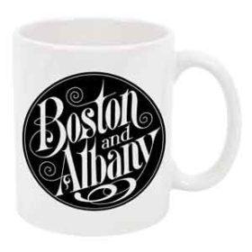 Boston and Albany logo Mug