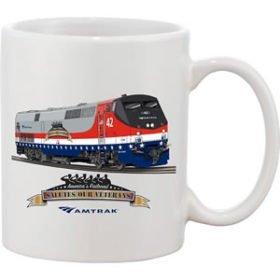 Amtrak Veterans Tribute Mug