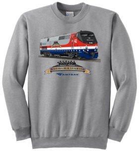 Amtrak Veterans Tribute  Sweatshirt [121]