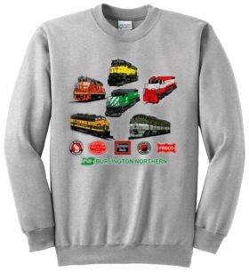Burlington Northern Heritage  Sweatshirt [17]