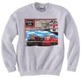 CB&Q Triple Header  Sweatshirt [23]