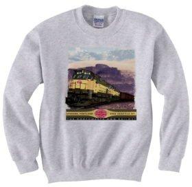 Spokane, Portland and Seattle Alcos inThe Gorge  Sweatshirt [37]