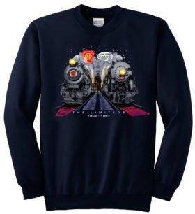 Broadway Twentieth Century Limiteds at Night  Sweatshirt [50]
