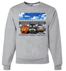 Sacramento Locomotive Works  Sweatshirt [6]