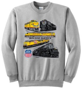 UnionPacific Collage  Sweatshirt [64]