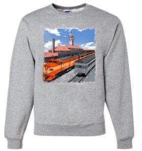 Go By Train Portland  Sweatshirt [7]
