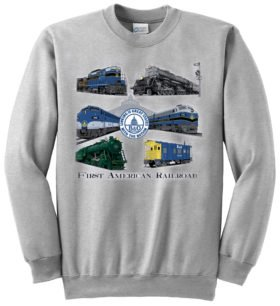 Baltimore & Ohio Collage  Sweatshirt [85]