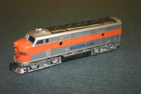Die-Cast Diesel Toy Train