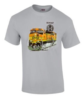 BNSF Heritage II Authentic Railroad T-Shirt Tee Shirt [20025]