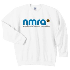 Beautifully embroidered NMRAx logo pull over Crew neck sweatshirt.