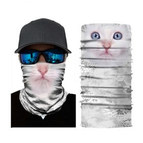 gaiter white cat