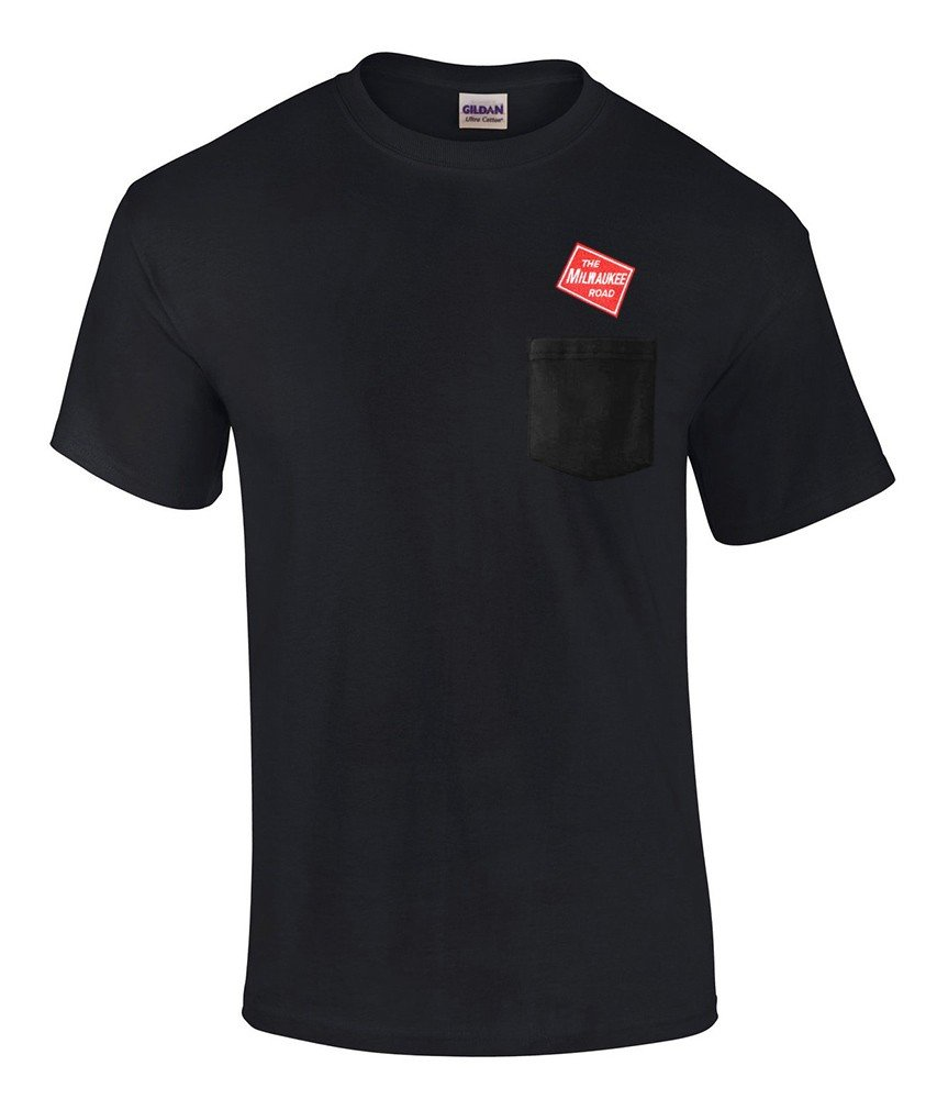 Milwaukee Road Embroidered Pocket Tee [p08]