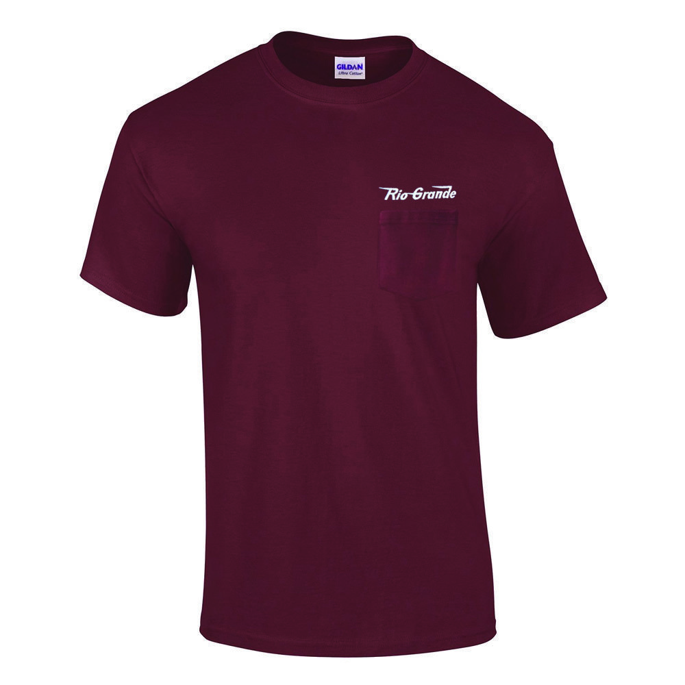 Rio Grande Speed Lettering Embroidered Pocket Tee [p11]