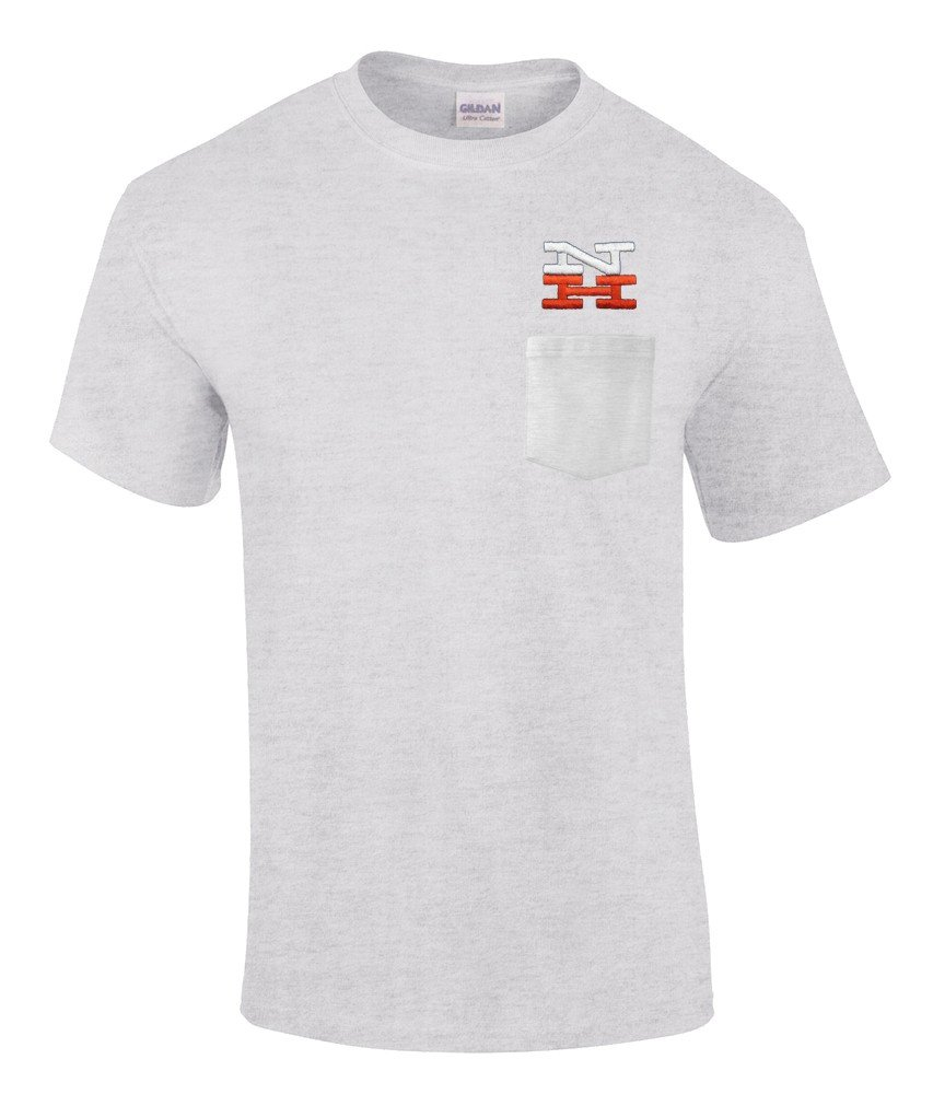 New York, New Haven and Hartford Railroad Embroidered Pocket Tee [p37]